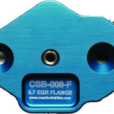 CSB-008-F Ford 6.7 Power Stroke EGR Flange