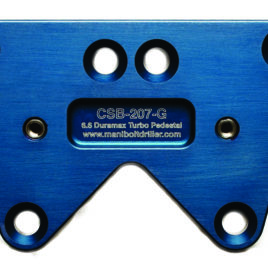 CSB-206/207-G GM Duramax 6.6 Diesel Exhaust Manifold Flange (Driver and Passenger), Turbo Pedestal (Requires  M10x1.5)