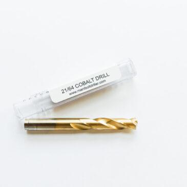 Cobalt Drill 21/64 (.3281)