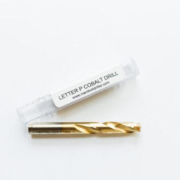Cobalt Drill Letter P (.323)