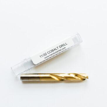 Cobalt Drill 11/32 (.3438)