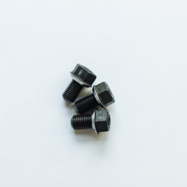 M10x1.25 Stud/Nut for mounting either on existing Studs or available Hole (Qty 3).